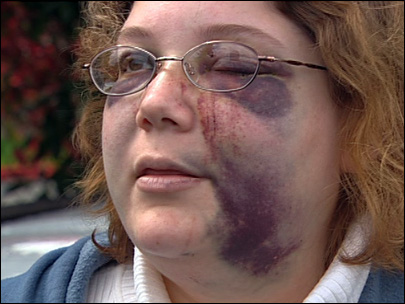 Female victim of violent crime