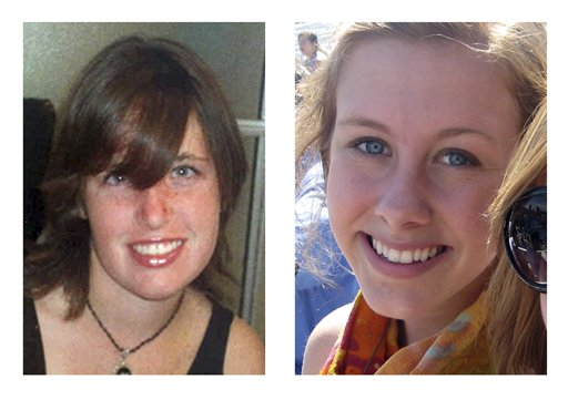 Photos of murder victims Amber Dubois and Chelsea King