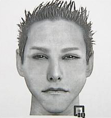 Sketch of man wanted for attempted rape in Shaler Township, just north of Pittsburgh