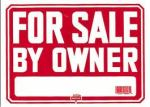 for sale sign requires caution against crime